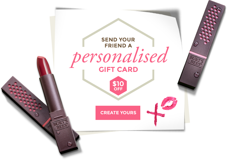 Send your friend a personalised gift card